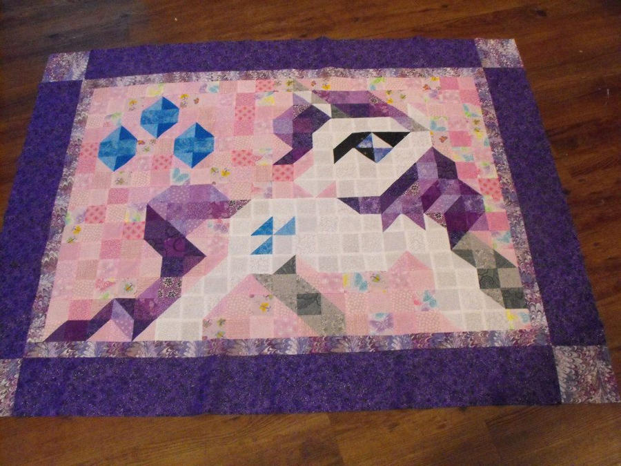 Rarity Quilt by jysalia