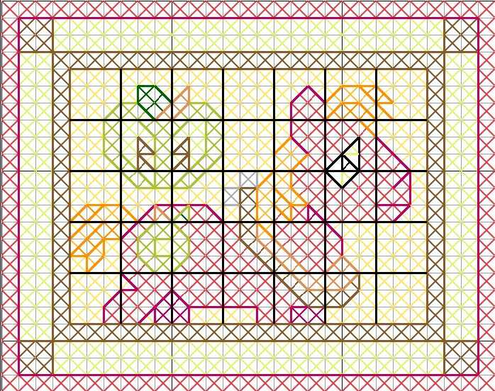 Big Macintosh Quilt Pattern by jysalia