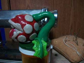 -Finished- Piranha plant by noctalys