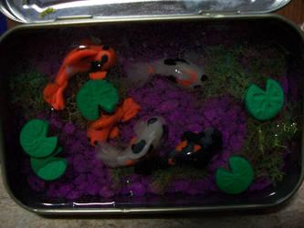 -finished- altoids koi pond by noctalys