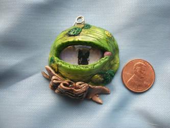 Moss Dragon Eye by noctalys