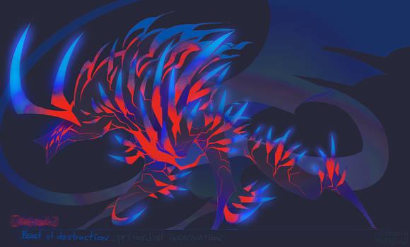 Beast of destruction concept
