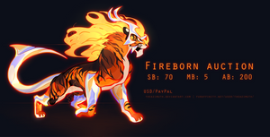 Fireborn Adopt Auction CLOSED
