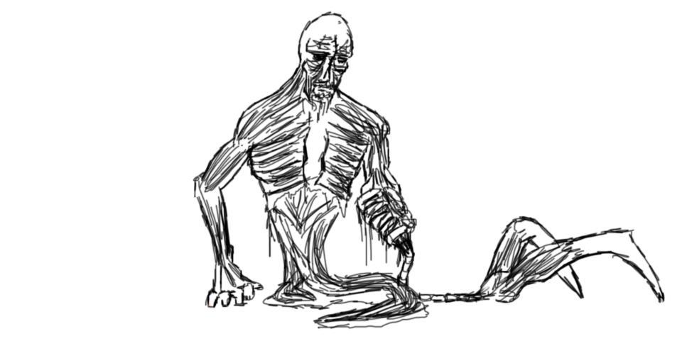 Strange zombie by silverman96