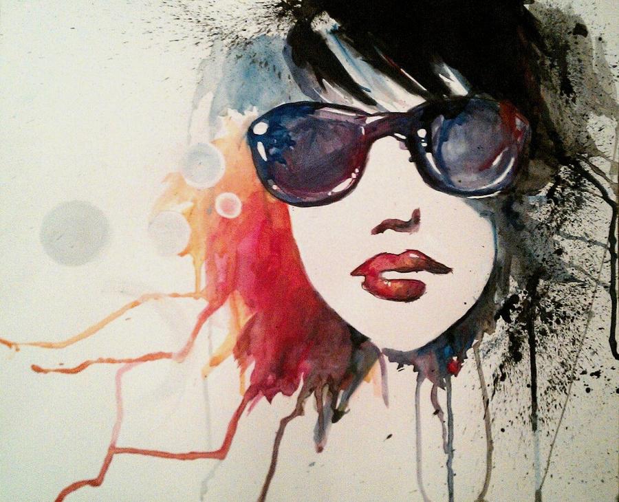 A Watercolor Experiment by emburkett