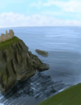 Seascape Speedpaint - Day 24