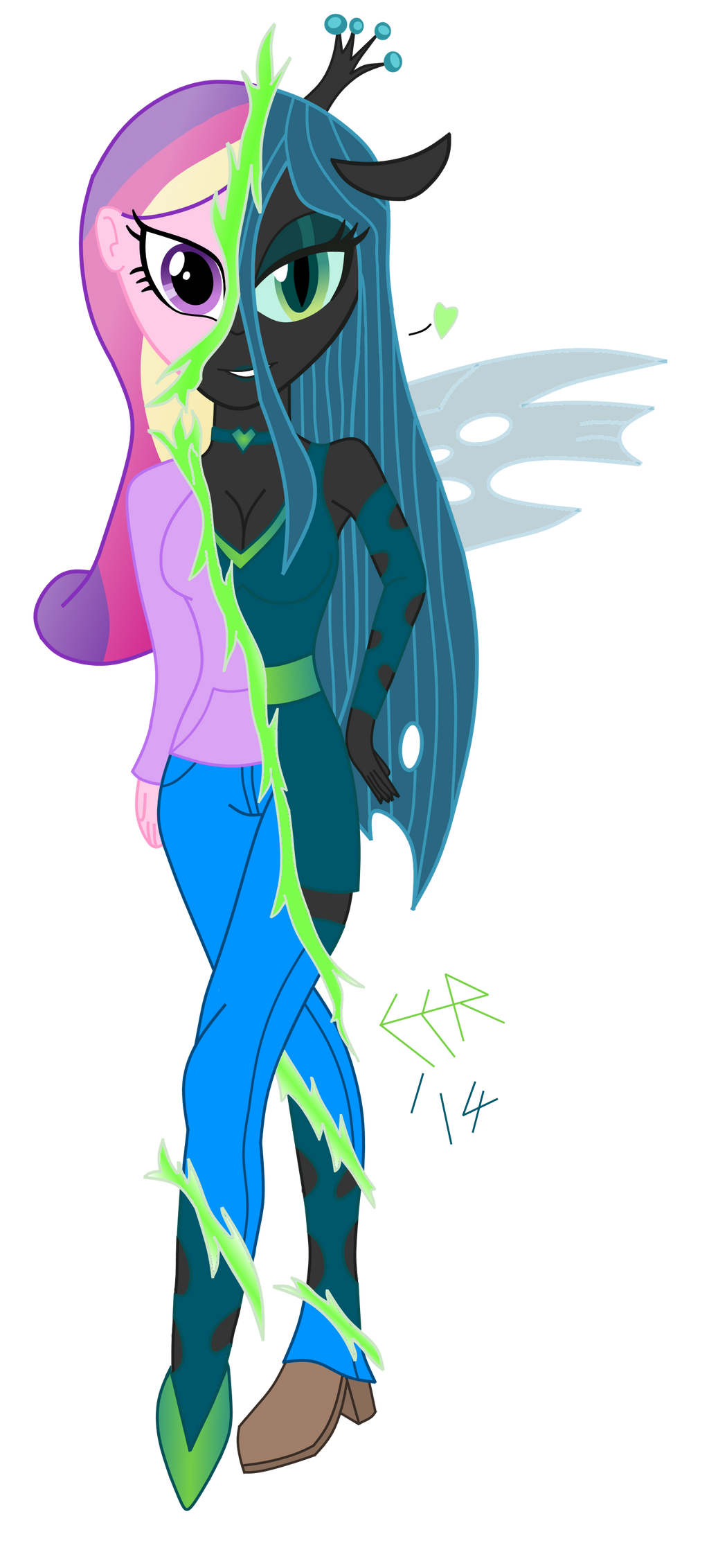 Queen chrysalis equestria girls