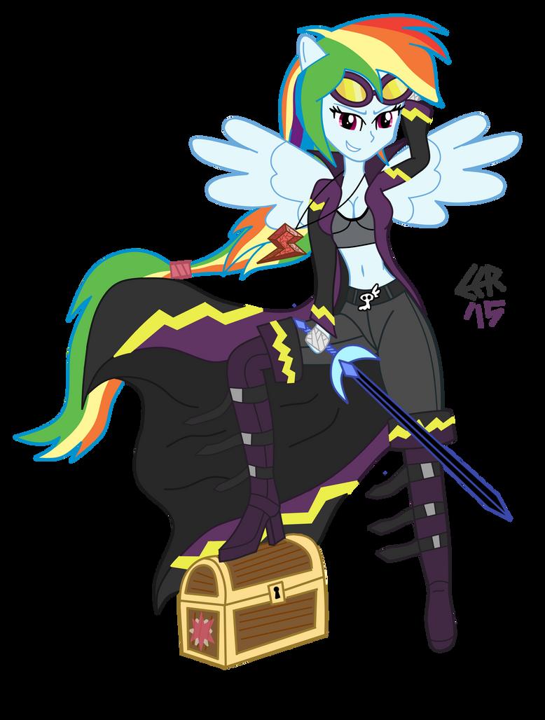 Rainbow Dash, Shadowbolt Turncoat by E-E-R on DeviantArt