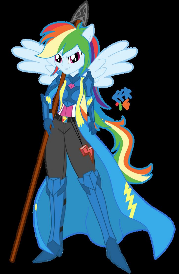 Rainbow Dash Knight Wonderbolt By E E R On Deviantart