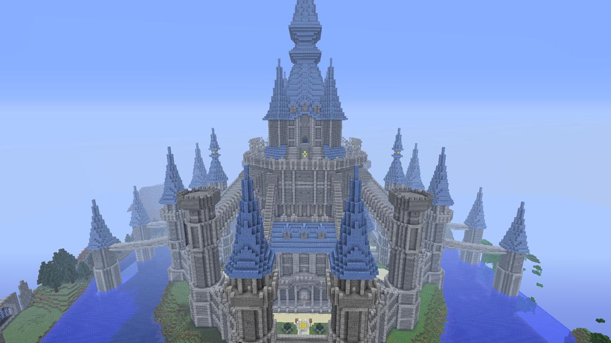 Castle in minecraft by AmeliaRoseGuthrie on DeviantArt