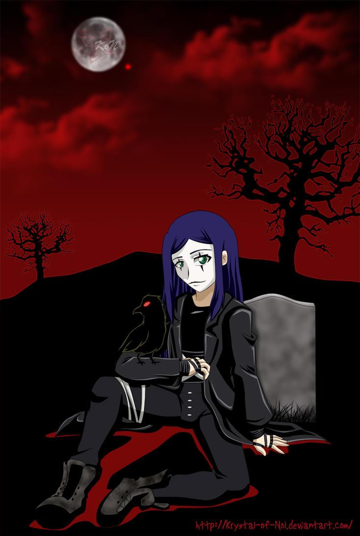 MH Natsuki The Crow by Krystal-of-Nol