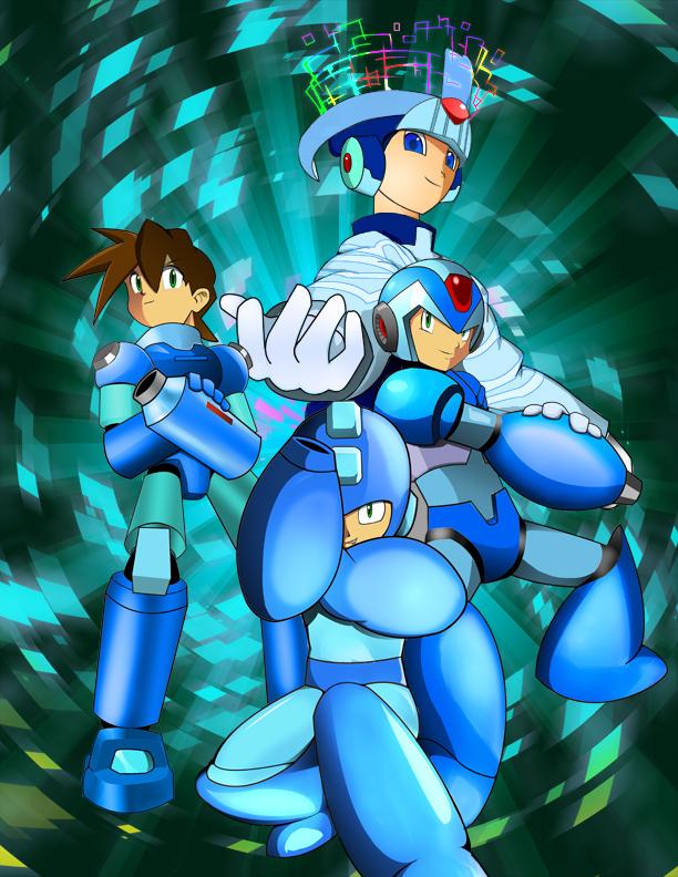 Megaman Evolution by macprodukshunz