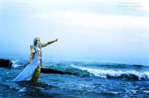 The god of the sea by sara1789