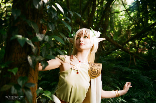 Elf in Forest