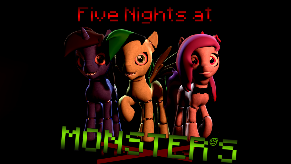 five nights at monster s wallpaper by thedarklordk on deviantart