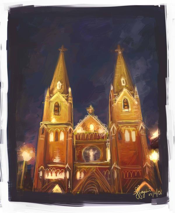 St Ignatius Cathedral by SarcasticSardines
