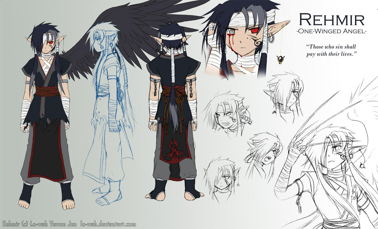 Character Sheet Rehmir By Lo wah On DeviantArt