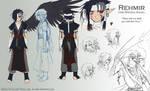 Character Sheet: Rehmir