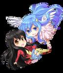 Commission - Chibi Mini Luna