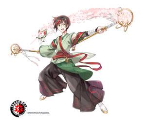 Sakura con Mascot 2016 Entry by Lo-wah
