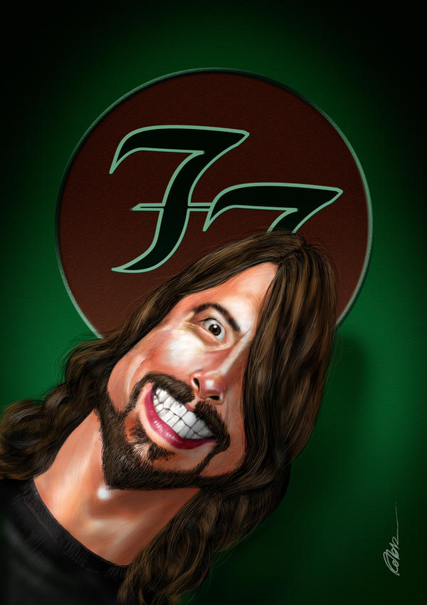 Dave Grohl - Foo Fighters by robb58