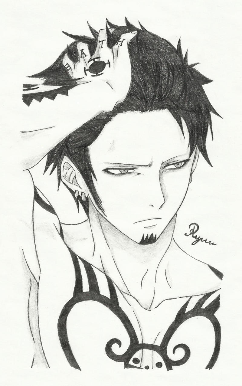 Trafalgar law by ryuuorigins on deviantart for Trafalgar law tattoos