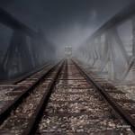 The fog train