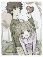 .Picture of us. by SakuraSyaoranforever