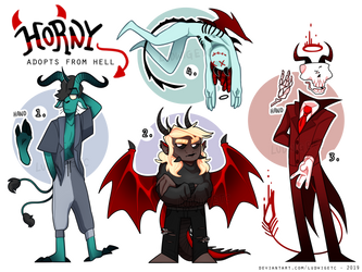 [Adopts] - HORNY adopts (Set price) [3/4 OPEN] by LudwigETC
