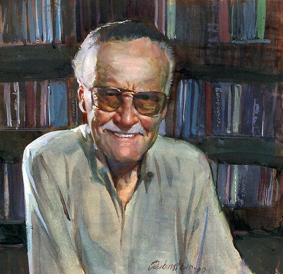 Stan Lee by JosefRubinstein