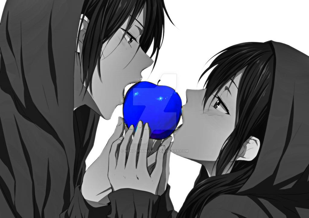 Anime Couple By Neko Shana