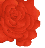 rose pixelart for alice in wonderland picture by PixelNuggets