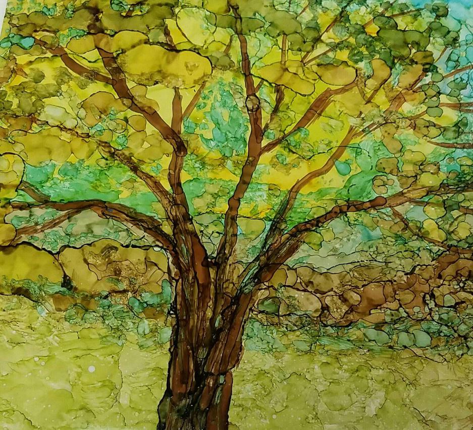 tree of life by vandersonart