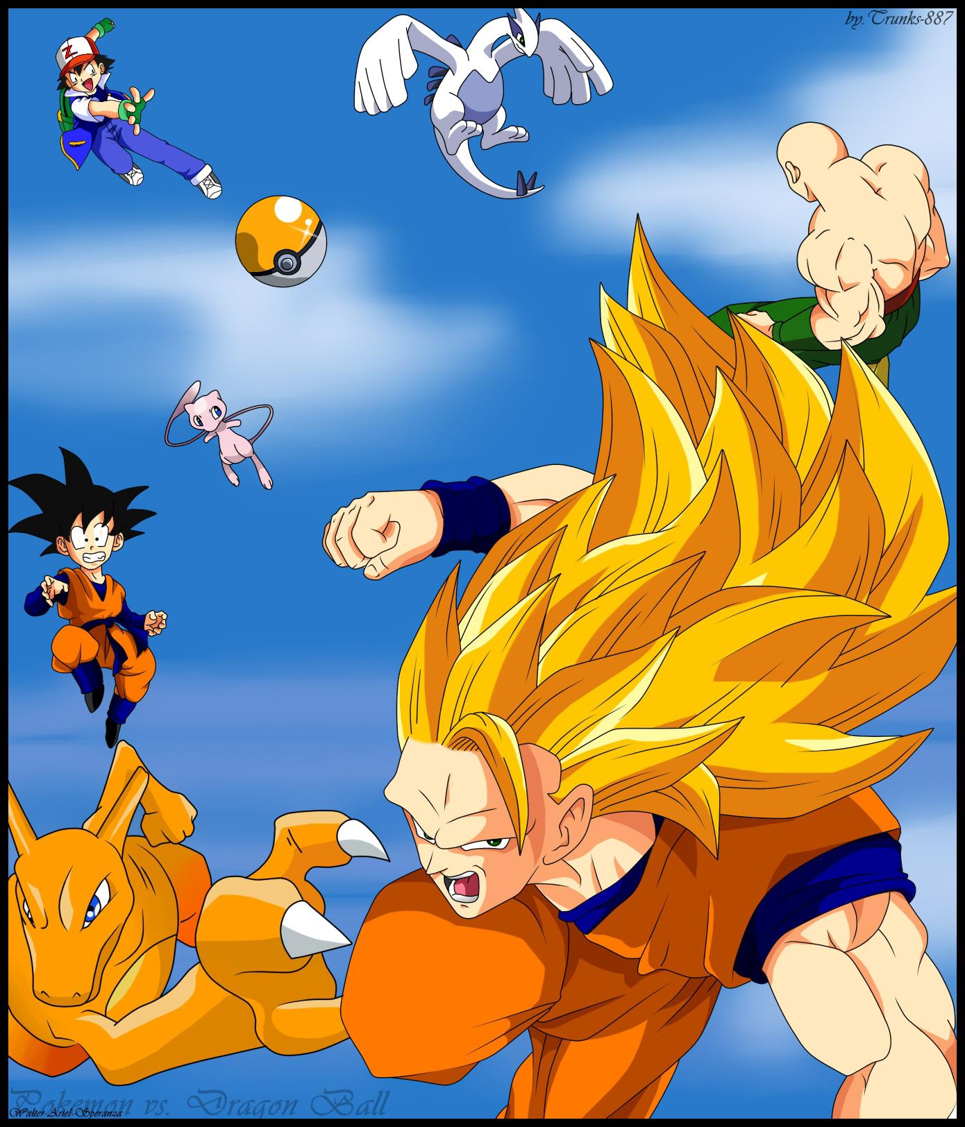 Pokemon Vs Dragon Ball 255941624