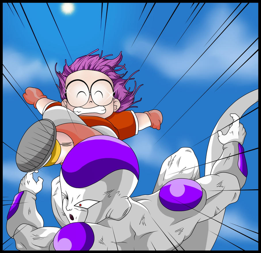 Arale Vs Freezer By Trunks887 On DeviantArt