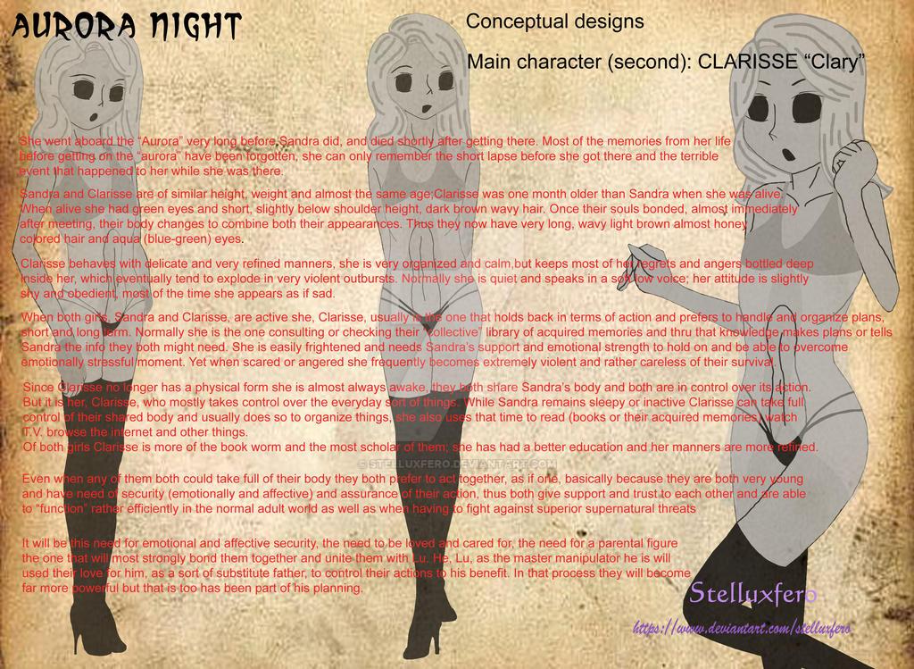 Clarise profile  by Stelluxfero