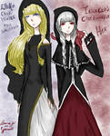 Elluka and Irina (IR) Clockworker by Yumuki