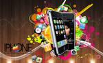 iPhone wallpaper v1color