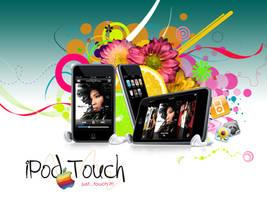 iPod Touch wallpaper v1 by simoner