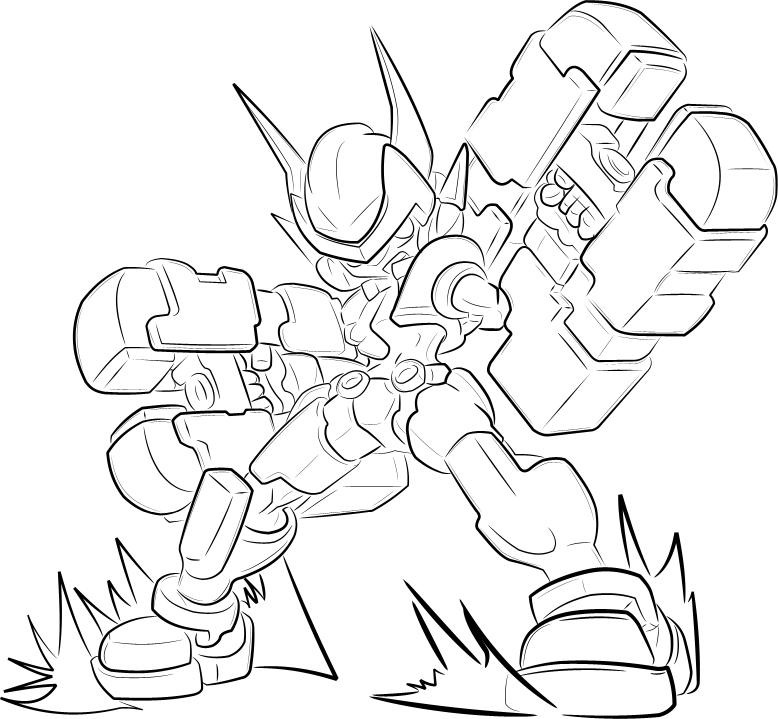 megaman coloring pages - zero and mega man vs sonic coloring pages coloring pages