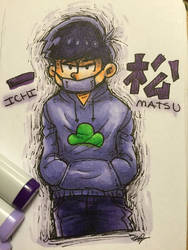 Ichimatsu in marker by theanimemaster2