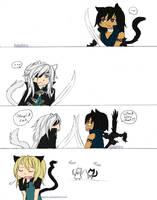 -- Lamento : Cat Fight -- by Kaishiru