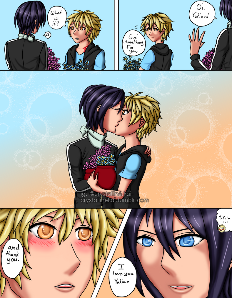 noragami:firstkiss