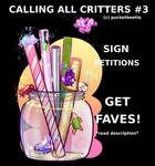 Calling All Critters #3 by pocketbeetle