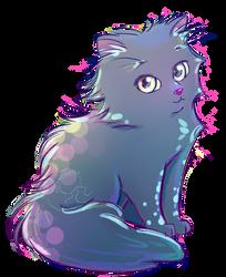 Blue Cat by pocketbeetle