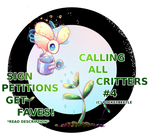Calling All Critters #4 by pocketbeetle