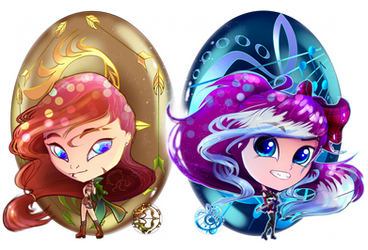 Mirrors by pocketbeetle
