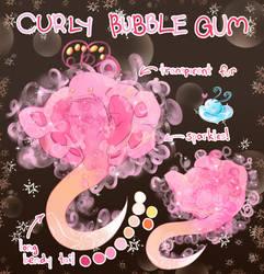 (OPEN) Snubble Adopt: Curly Bubble Gum