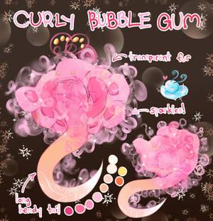 {OPEN}SB$5: Curly Bubblegum Snubble