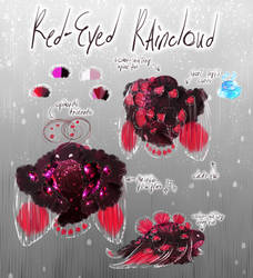 (OPEN SB $5) Snubble Adopt: Red-Eyed Raincloud